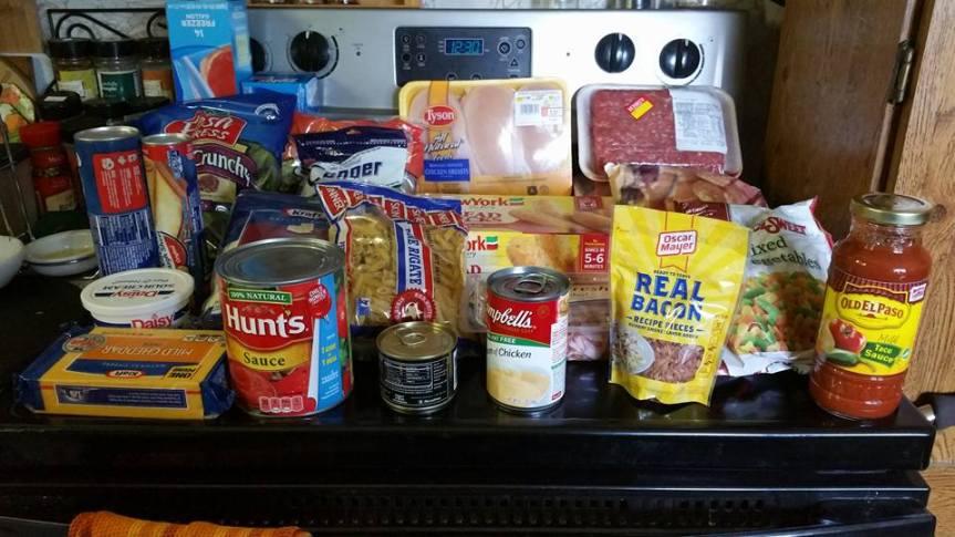 5 Meals Groceries